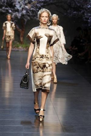 Dolce & Gabbana,Sommer, 50er Look, Eleganz,