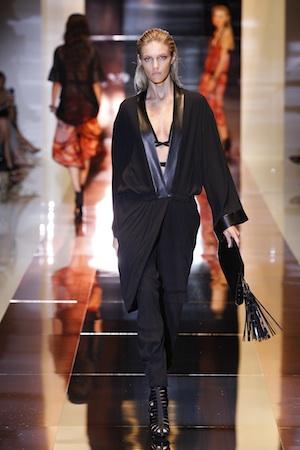 Gucci Sommer, schwarz, art deko, Party dress