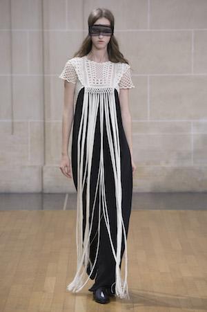 Veronique Branquinho, Sommer 2016 Mode Fashion Kleid Spitze