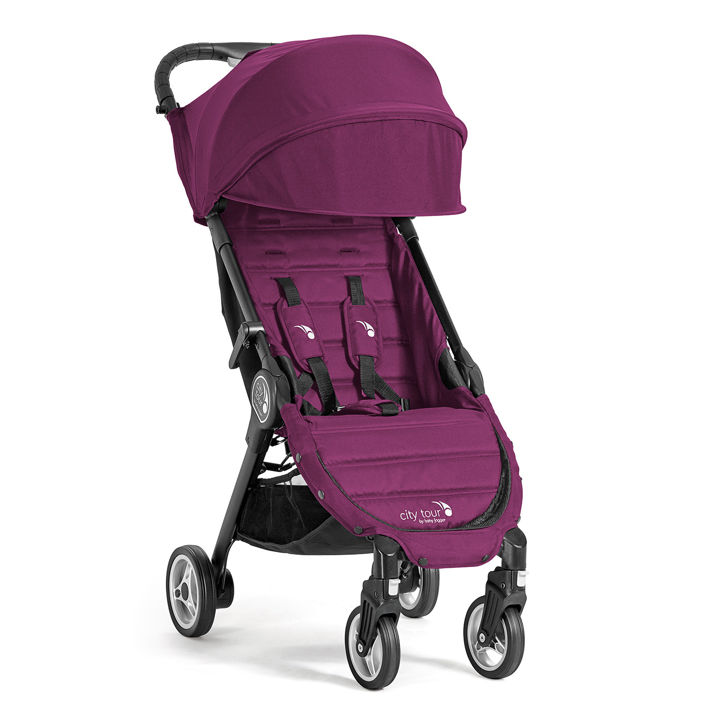 Babyjogger city tour in violett