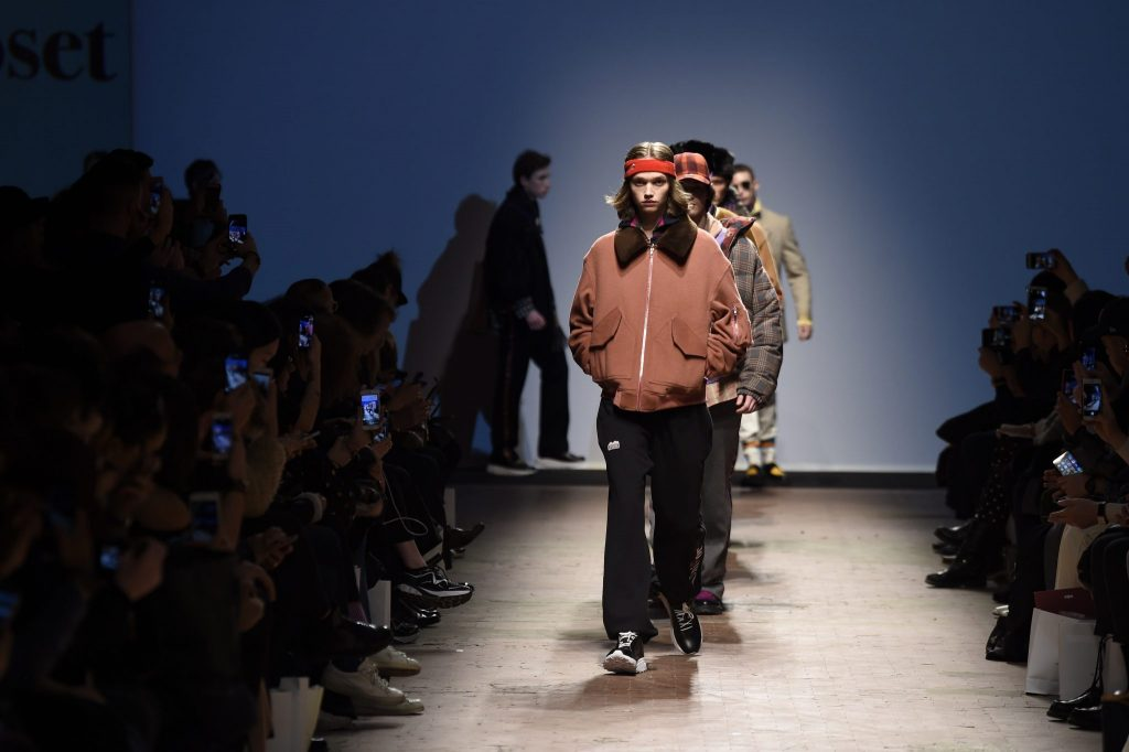 Finale Modenschau Beyond Closet, Mode aus Südkorea. Pitti Uomo, Florenz