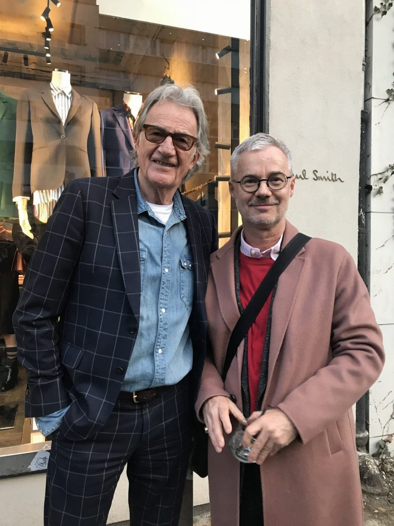 Paul Smith Berlin mit Nikolas Feireiss