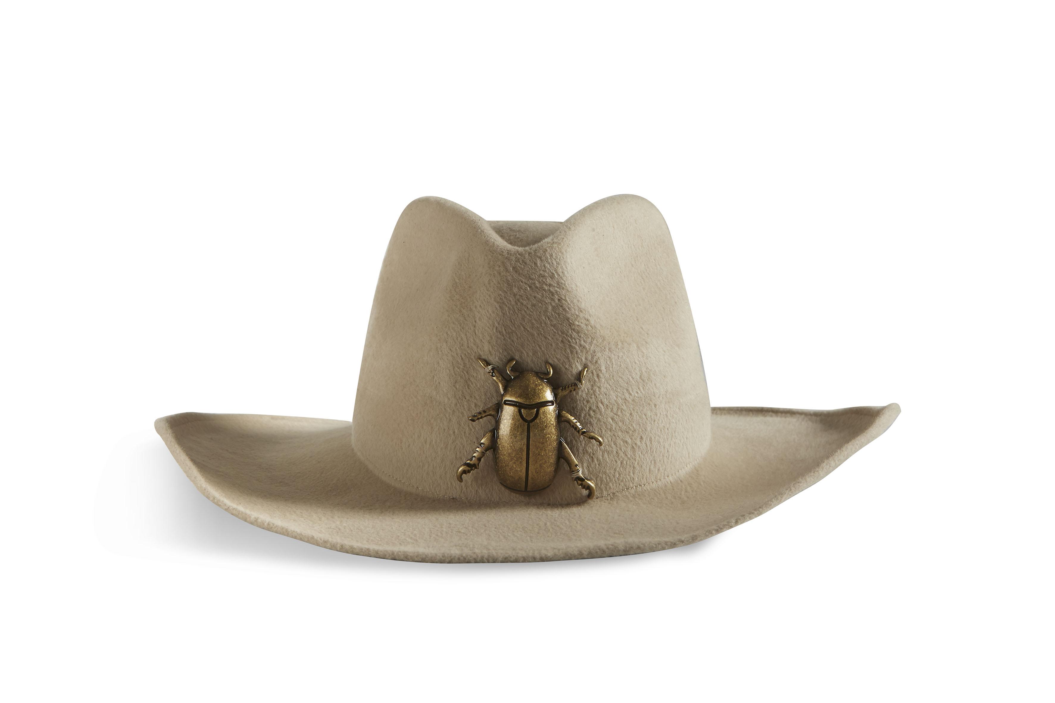 Cowboyhut mit Skarabäus von Montegallo